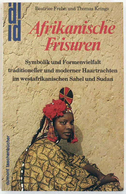 African hair styles, coiffure, 1986 tribal art book