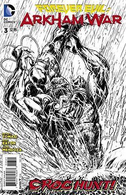 FOREVER EVIL ARKHAM WAR 3 1:25 VARIANT NM/NM+ BANE HARLEY QUINN JOKER BATMAN (Evil Harley Quinn)