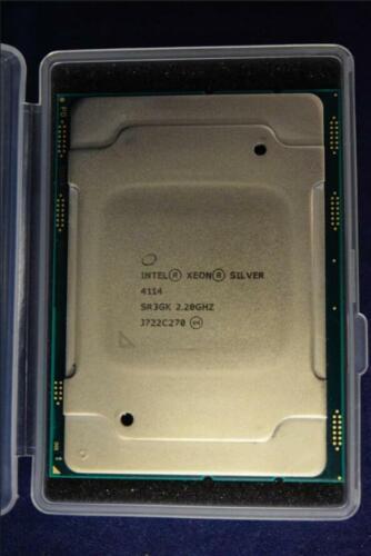 SR3GK Intel Xeon Silver 4114 13.75M Cache, 2.20 GHz Processor CD8067303561800