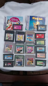 games for nintendo game boy & color & advanced & 2 essentials kits - handles,cases in car chargers