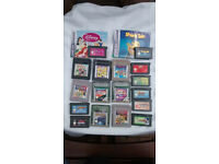 nintendo game boy / game boy color / and game boy advance games