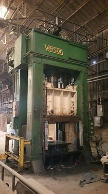 1050 Ton Verson1050-hd2d-78-4t 81 X 72 Bed 42stk Double Acting Hydraulic