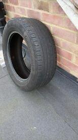 4no. Continental Tyres 205/55 R15