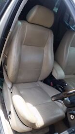 FORD MONDEO TDC1 2002 FULL CREAM LEATHERS ELEC HEATED SEATS £149