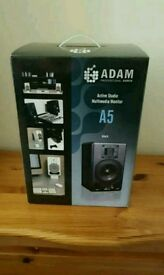 New Professional audio Adam A5