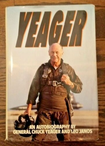 Chuck Yeager Signed Book - PSA / DNA Authenticated