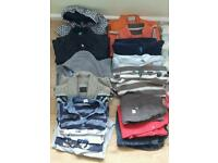 Boys clothes 6-9 and 9-12 months including 3 jackets,gillets and warm cardigan