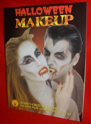 Vintage RUBIE'S COSTUME CO Halloween Makeup CATALOG Universal Monsters Star Trek