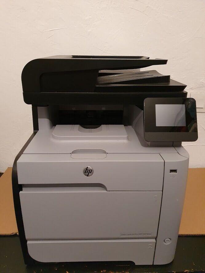 Imprimante multifonction hp color laserjet pro m476 - 4500 pages - rj45 wifi usb