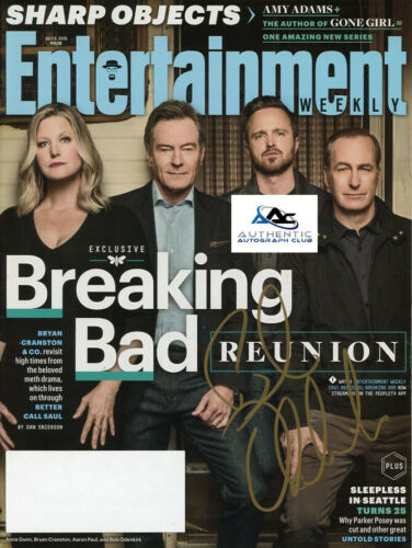 BOB ODENKIRK AUTOGRAPH SIGNED ENTERTAINMENT WEEKLY MAGAZINE BREAKING BAD COA