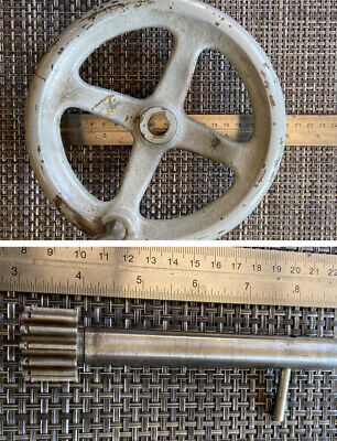 South Bend 16 Lathe Apron Hand Wheel Pinion Gear