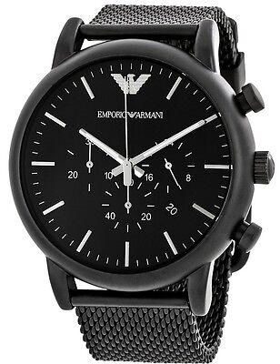 Emporio Armani Sport Chronograph Black Mens Watch AR1968