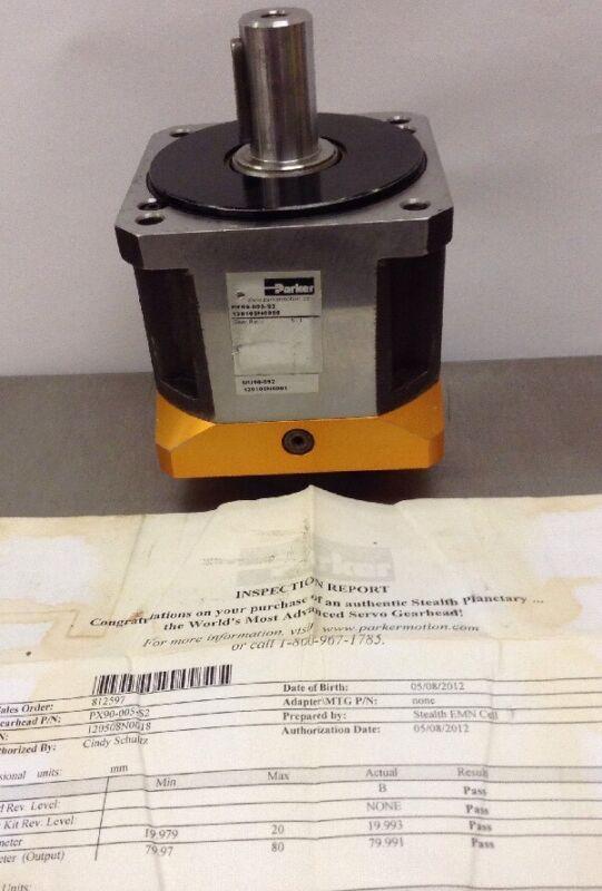 Parker Servo Gearhead PX90-005-S2 5:1 Gear Ratio