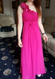 REDUCED New PROM DRESS. Coral size 8