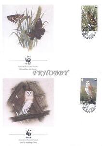 GB Jersey 1989 Mi FDC 480-83 WWF Animals Sowa Owl Eule Butterfly Schmetterling - <span itemprop='availableAtOrFrom'> Dabrowa, Polska</span> - GB Jersey 1989 Mi FDC 480-83 WWF Animals Sowa Owl Eule Butterfly Schmetterling -  Dabrowa, Polska