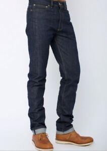 American Apparel size 28 Raw Selvedge Jeans