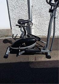 V-Fit Cross Trainer Bike