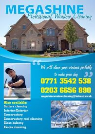 MEGASHINE PROFESSIONAL WINDOW CLEANING SERVICE