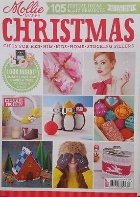 Mollie Makes UK Christmas Autumn 2015 Festive Ideas & DIY FREE SHIPPING CB](Diy Christmas Ideas)
