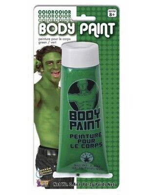 3.4 oz Fx Washable Body Cream Tube Makeup Face Paint Sports Fan Halloween