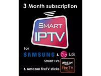 Smart IPTV 3 Months Plus 1 Month Free