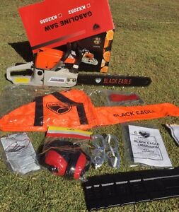 """SALE TODAY 58cc Black Eagle 20"""" Chainsaw NEW in Box South Yunderup Mandurah Area Preview"""