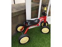 Kids/toddler 4 wheels bile