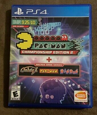 Pacman Championship Edition 2 Sony Playstation 4 PS4 ~ Excellent! Fast Shipping!
