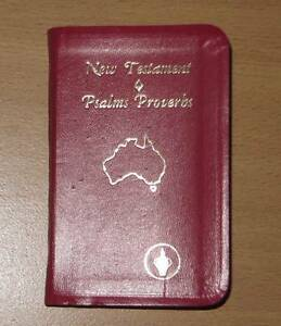 Bible - New Tastament Psalms Proverbs - Small Size as new Eastwood Ryde Area Preview