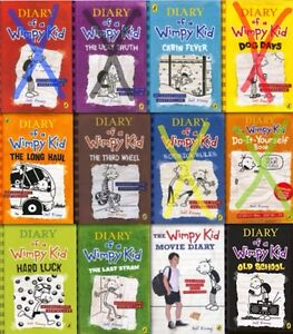 Looking for diary of wimpy kid.