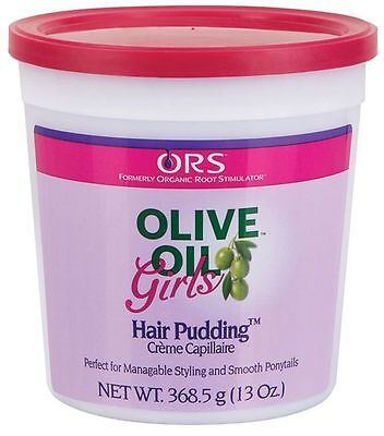 ORS Organic Root Stimulator Olive Oil Girls Hair Pudding Styling & Ponytail -
