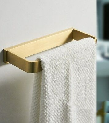 Towel Ring Brass Gold Finish Towel Bar Rack Hotel Simple Style For Bathroom