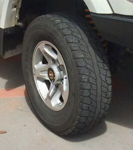 Land cruiser wheels Gladstone Gladstone City Preview