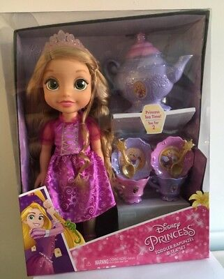(DISNEY PRINCESS TODDLER RAPUNZEL & TEA SET)