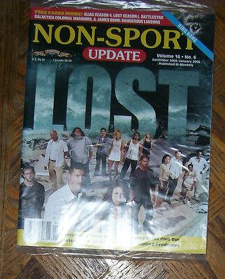 NON-SPORT UPDATE VOL 16 NO 6 DEC 2005 - JAN 2006 LOST