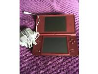 DSI XL Wine Red with Games