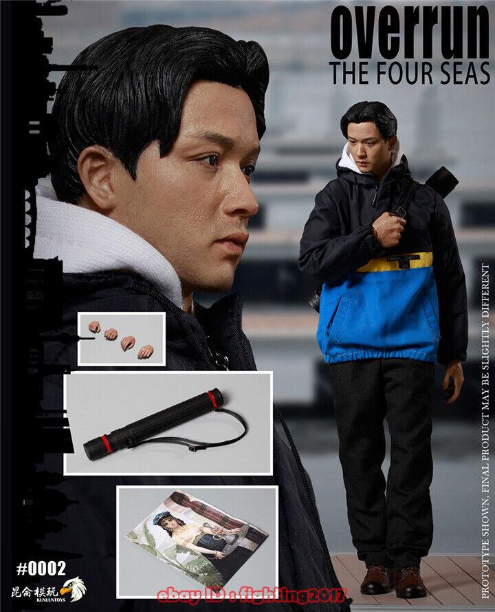 KUNLUNTOYS 1//6 Overrun The Four Seas Star Leslie Cheung Collectible Figure Set