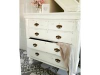 extra large chest of drawers