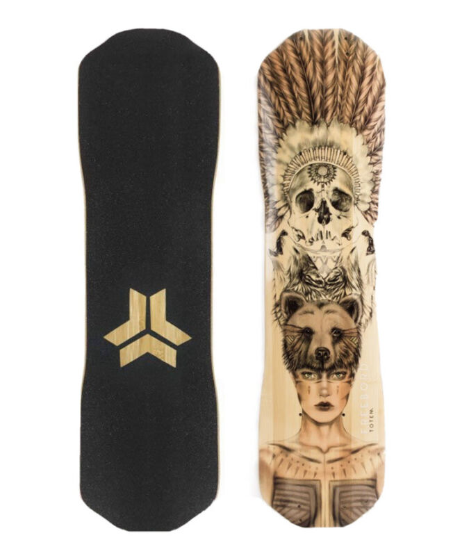 Freebord Totem 77cm Deck Bamboo Deck - NEW Sealed Free Shipping
