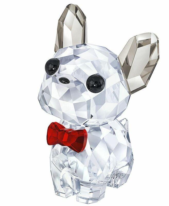 New in box Swarovski Puppy Bruno the French Bulldog #5213639