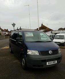 **price reduce** 05 plate Volkswagen Transporter LWB low miles 90k!!