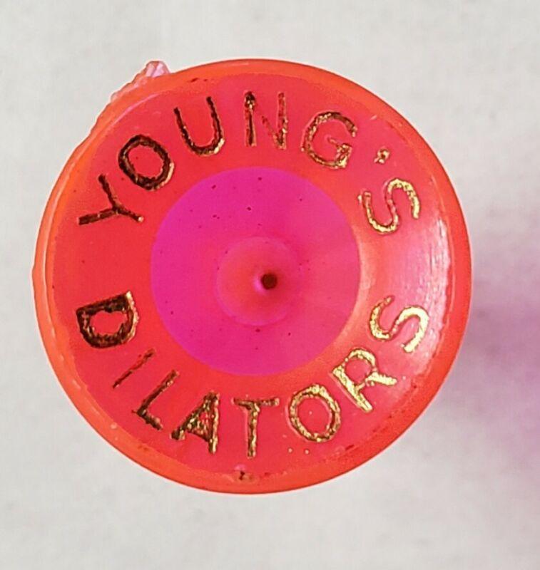 Vintage Youngs Rectal Dilators GOLF TEE ANTIQUE ADVERTISING GOLF MEMORABILIA