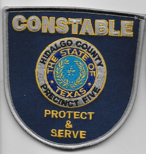 Hidalgo County Contable PCT 5 NEW Police Sheriff   State Texas TX