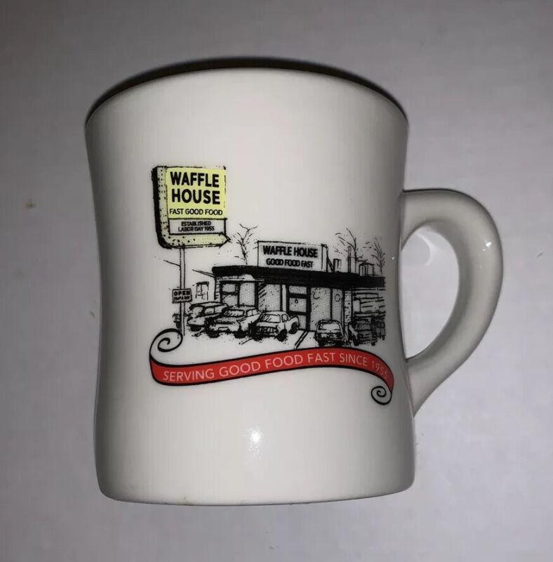 Waffle House Coffee Mug Tea Cup Restaurant Ware Tuxton Diner Style 2012