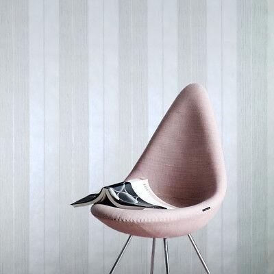 Wallpaper white Striped Textured modern Stripes modern faux plaster textures 3D