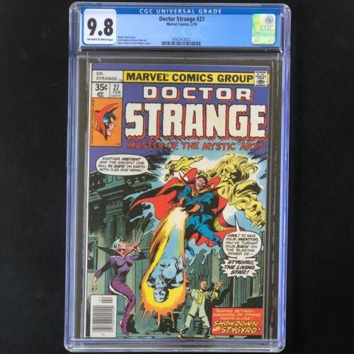 Doctor Strange #27 (1983) 🔥 CGC 9.8 🔥 HIGHEST GRADED: 1 of 9! Marvel Comic Dr