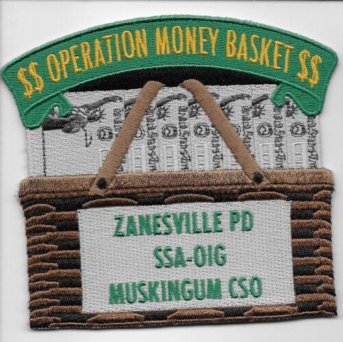 USMS ATF FBI IRS Operation Money Basket Ohio Sheriff & Police State OH