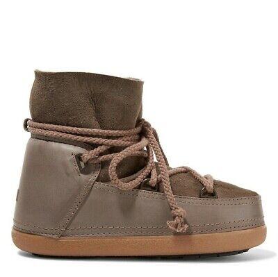 INUIKII IKKII Classic Low Sheepskin Leather Boots Taupe 37