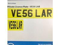 Cherished number VE56LAR