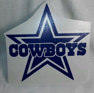 Dallas Cowboys Decal Sticker NFL Cars Trucks Windows Tumblers Football - Dallas Cowboys Window Decal